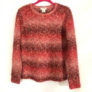 Talbots Marled sweater Cardigan fall colors